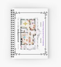 House of Lorelai & Rory Gilmore - Ground Floor Spiral Notebook