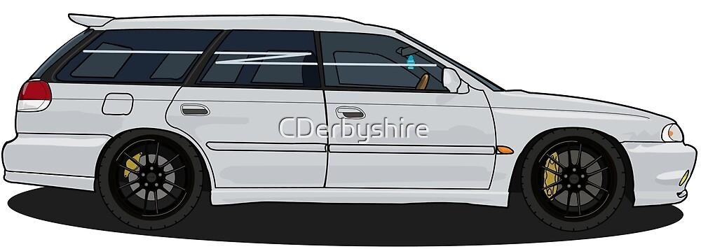 Subaru Legacy GTB Limited  by CDerbyshire
