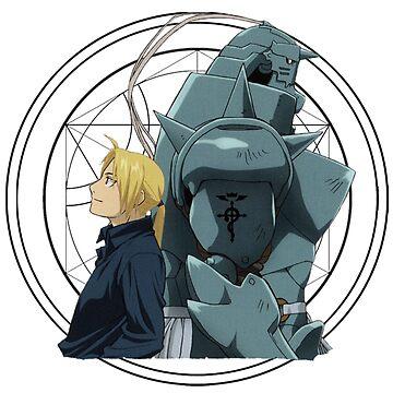 Fullmetal Alchemist Art by 32BlackRoses
