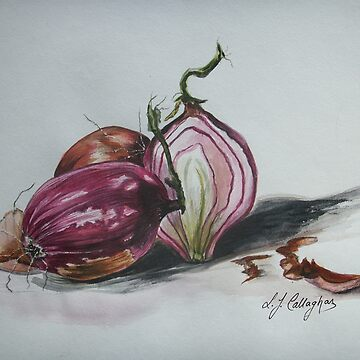 Red Onions  by LindArt1