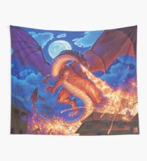 The Devil's Fire Wall Tapestry