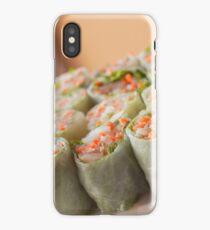 Vietnamese Spring Rolls iPhone Case