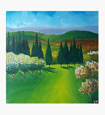 Tuscany Countryside Photographic Print