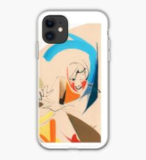 Jazz Groovy Musicians Playing iPhone Case