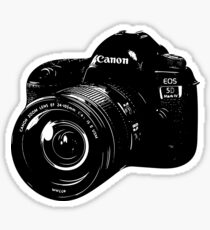 Canon Camera DSLR Sticker