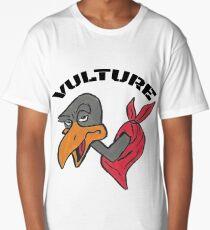 Bandana-Wearing Vulture (#2) Long T-Shirt