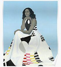 Michelle Obama Portrait Poster
