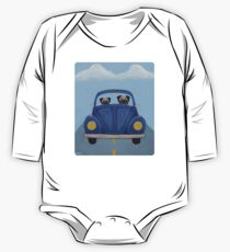 Pugs in a Bug One Piece - Long Sleeve