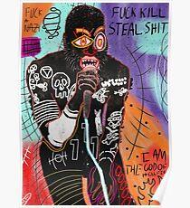 Basquiat MC Ride Poster