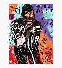 Basquiat MC Ride Photographic Print