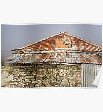rusty roof Poster