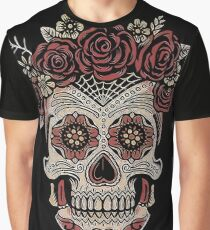Frida Kahlo Calavera Graphic T-Shirt
