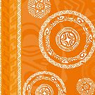 Tatou - Fall Orange by blackpearl003