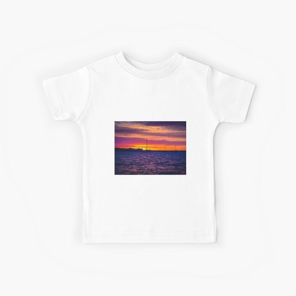 Sonnenaufgang über dem Severn River - Annapolis, MD Kinder T-Shirt