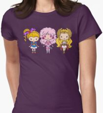Lil' CutiEs - Eighties Ladies Women's Fitted T-Shirt