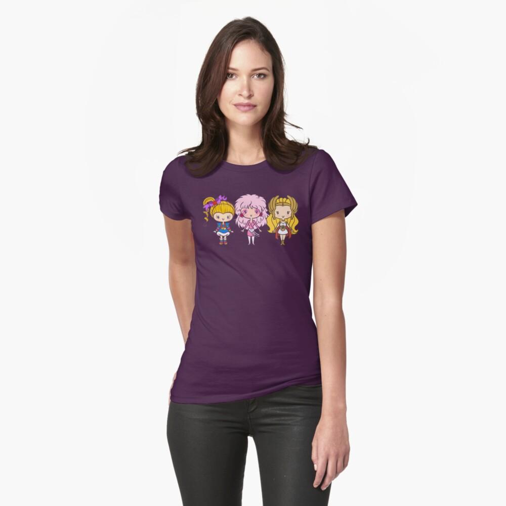 Lil 'CutiEs - Achtziger Damen Frauen T-Shirt Vorne