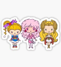 Lil' CutiEs - Eighties Ladies Sticker