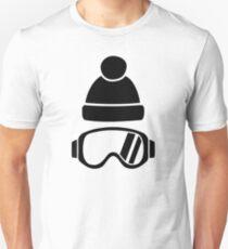 Ski goggles hat T-Shirt