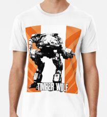 MechWarrior - Timberwolf Men's Premium T-Shirt