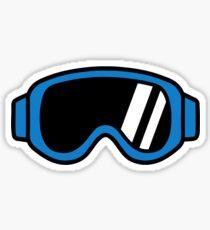 Ski goggles Sticker