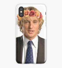 Owen Wilson Flower Crown iPhone Case