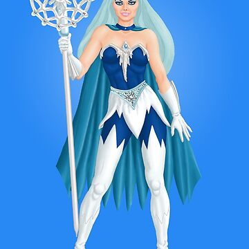 Ice Empress by Kevenn T. Smith by KevennTSmith