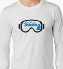 Ski goggles mountains T-Shirt