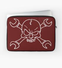 wrenches skull Laptop Sleeve