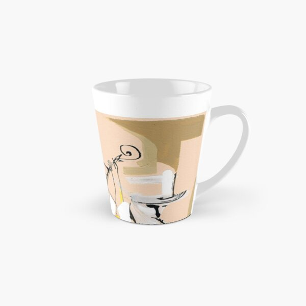 Musicians Couple Composition Expressive Line Drawing Tall Mug