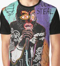 Basquiat MC Ride Graphic T-Shirt