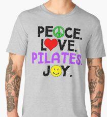 Peace Love Pilates Joy Men's Premium T-Shirt