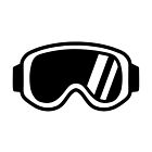 Skiing goggles by Designzz