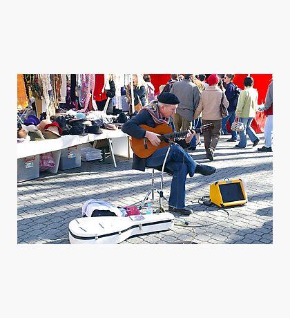 Falamenco in Salamanca Photographic Print