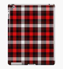 Red Burberry iPad Case/Skin