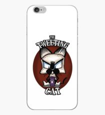 The Tweeting Cat iPhone Case