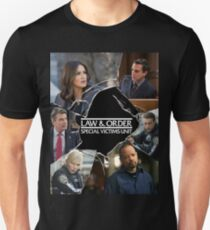 Law and Order: SVU Crack Poster Unisex T-Shirt