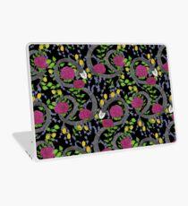 Schlangen-Blumendruck Laptop Folie