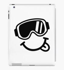 Ski smiley face iPad Case/Skin