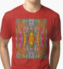 Dream Shade Sugarcane Pattern Tri-blend T-Shirt