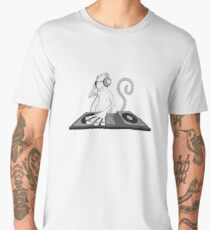 Monkey is a DJ Men's Premium T-Shirt