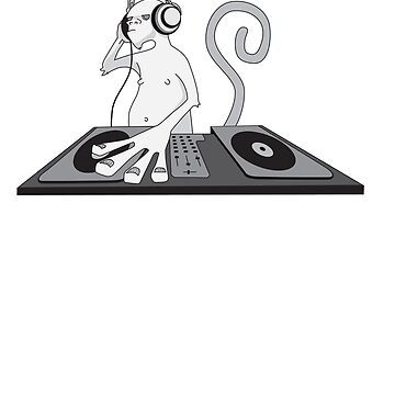 Monkey is a DJ by damienmason