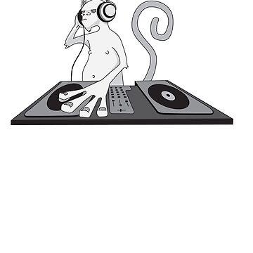 Monkey is a DJ by damienmason