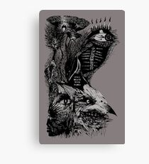 still death with flora Canvas Print
