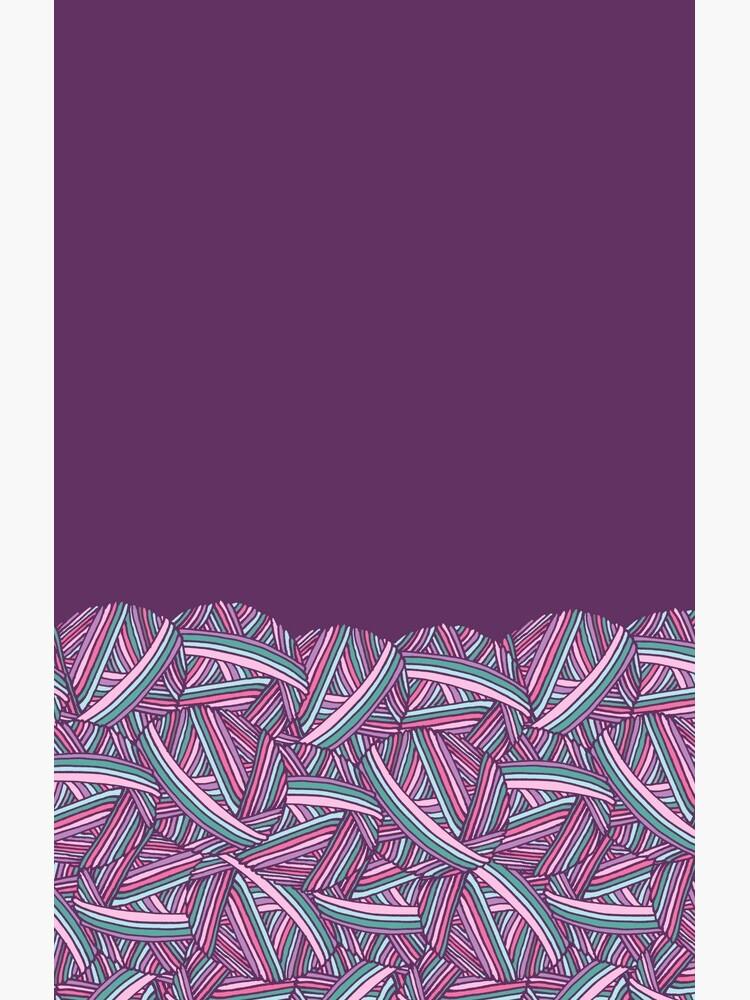 Hübscher Stapel der Makronen-Garn-Bälle für luscious Gamaschen-Sammlung durch Kristin Omdahl von KristinOmdahl