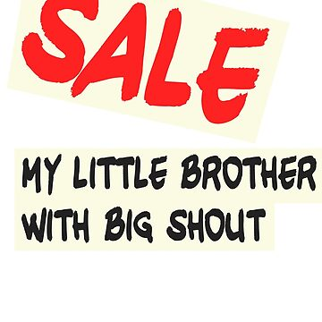 KPOP K-SIGN SALE BROTHER BIG SHOUT by BionicWiggly