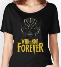 Wakanda Forever Women's Relaxed Fit T-Shirt
