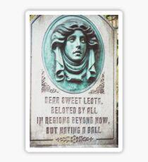 Dear Sweet Leota Sticker
