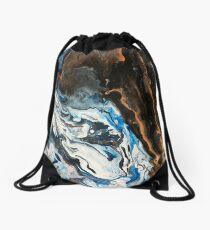 Coast Line Drawstring Bag