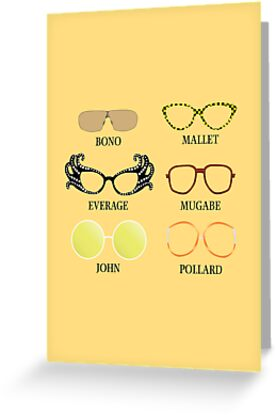 Wacky Glasses by Stephen Wildish
