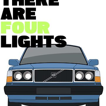 """Star Trek / Volvo 240 """"There are four lights!"""" by kuronekojustice"""
